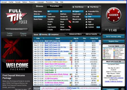 Full Tilt Poker Pokerstars Account