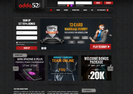 Adda52 poker download