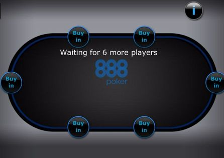 888poker Poker Table
