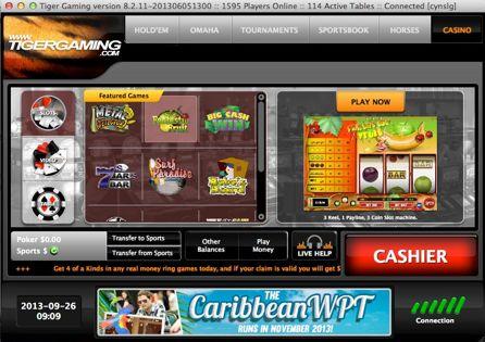 Tiger Gaming Lobby