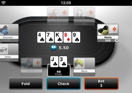 partypoker App Table