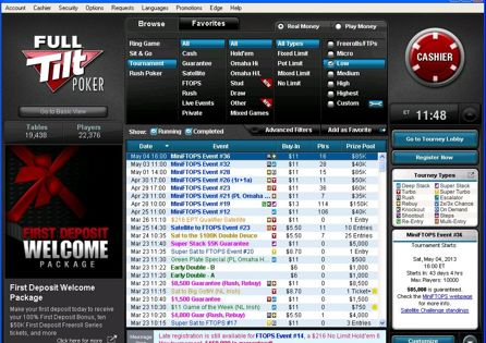 Full Tilt Poker Download Amp Get 1200 Bonus Pokernews