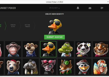 Unibet Poker Avatars