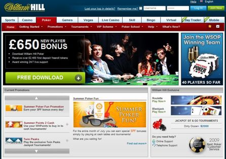 William Hill Site