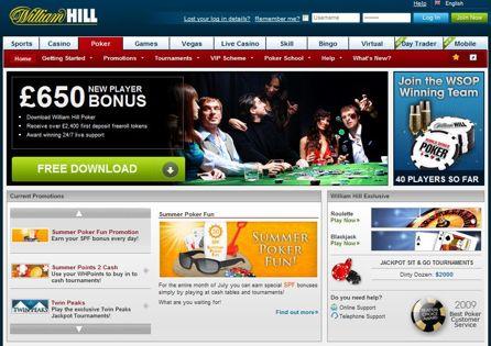 William Hill Site