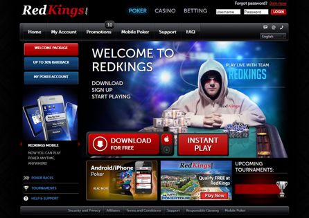 RedKings Poker Lobby