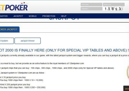 12bet poker