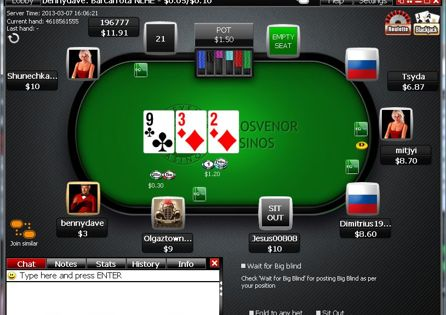 Cash Table