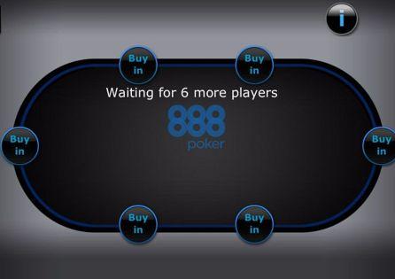 888poker App Table