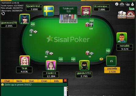 Sisal Poker Table