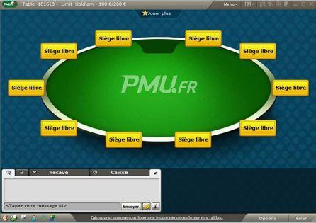 PMU Poker.fr Table