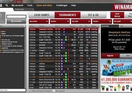 Winamax Poker Lobby