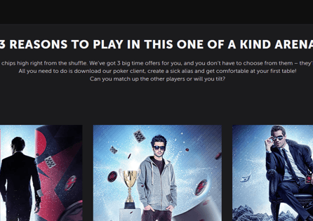 the Betsafe offers three different poker offers for their players