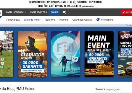 Pmu.fr Homepage
