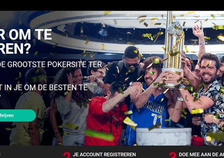 PokerStars.be Homepage