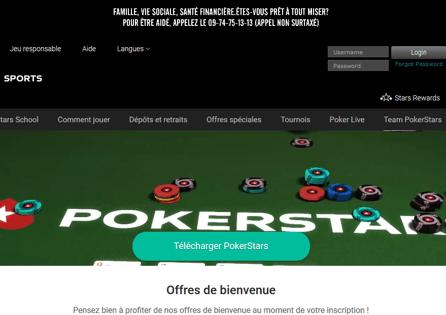 Pokerstars.fr Homepage