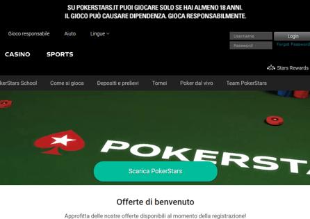 Pokerstars.it Homepage