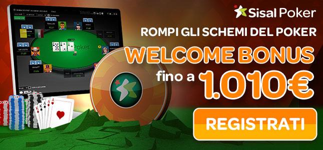 Bonus di Poker su Sisal