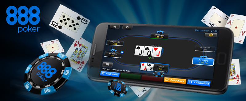 888 poker app for Android