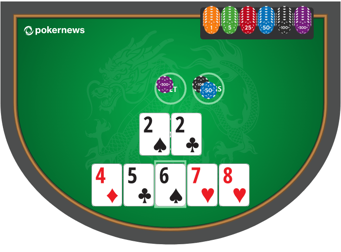 Pai Gow Poker example hand