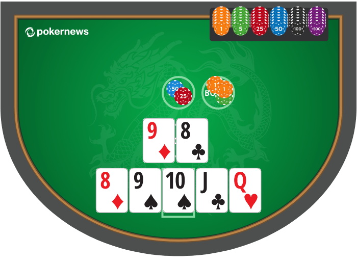 Pai Gow Poker Example Hand 3